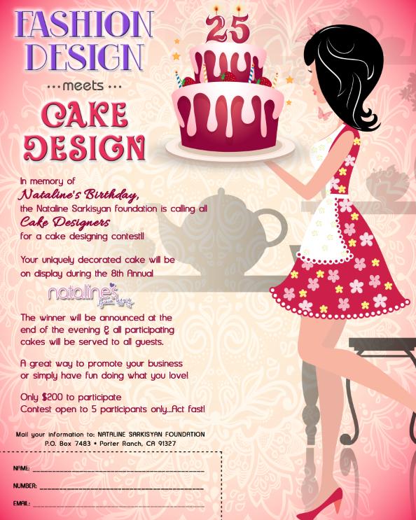 Fashion Design Meets Cake Design The Nataline Sarkisyan Foundation