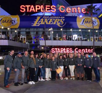 An Evening At The Staples Center