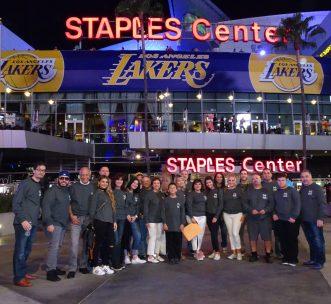 An Evening At The Staples Center